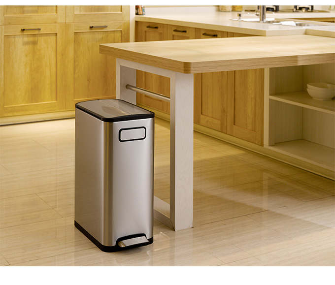 EKO trash bin eco fly step bin 20 l trash bin Recycle Bin trash can pedal trash pedal bin Recycle Bin pedal Gomi box pedal rubbish bin dust box dust BOX Pere functionally box kitchen garbage bin kitchen per trash can pedal per lid with lid with fashionab