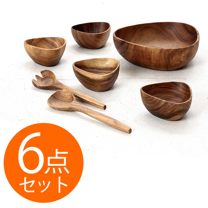 bowl salad bowl wooden tableware bowl tableware western instrument wooden salad bowl set tri angle bowl
