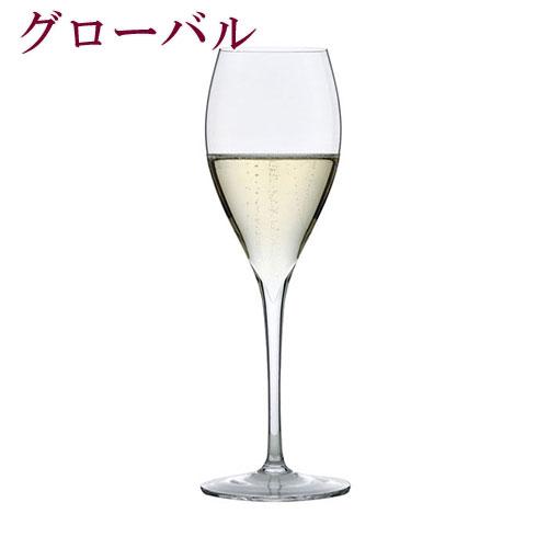『フルール シャンパン スモール 160cc 6脚セット』 シャンパングラス シャンパン スモール フルール フルールシリーズ 手ふき ノン・レッド・クリスタル ハンドメイド ワインセット グラスセット 父の日