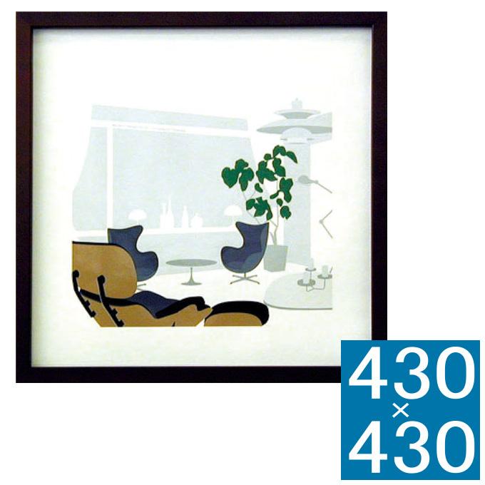 『アートフレーム Designers Collection Toshiaki Yasukawa』 フレーム アートフレーム 壁飾り 額縁 壁掛けインテリア 壁掛けアート ディスプレイフレーム インテリアフレーム 絵画 Toshiaki Yasukawa ヤスカワトシアキ 北欧 おしゃれ 正方形 モダン 壁掛け式