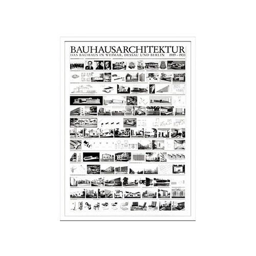 『アートフレーム Bauhaus Bouhaus Architektur 1919-1933』 フレーム アートフレーム 壁飾り 額縁 壁掛けインテリア 壁掛けアート フレームアート ディスプレイフレーム インテリアフレーム おしゃれ 北欧 長方形 モダン 縦型 壁掛け式 ギフト 贈り物