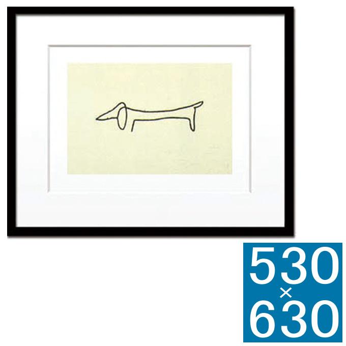 【送料0円】 『アートフレーム Pablo モダン Le Picasso Le chien (Silk screen)』 アートフレーム フレーム 壁掛け式 壁飾り 額縁 壁掛けインテリア 壁掛けアート インテリアフレーム 絵画 版画 シルクスクリーン Pablo Picasso Le chien おしゃれ かわいい 可愛い 北欧 横型 モダン 壁掛け式 ギフト, 田んぼや:539b25c0 --- totem-info.com