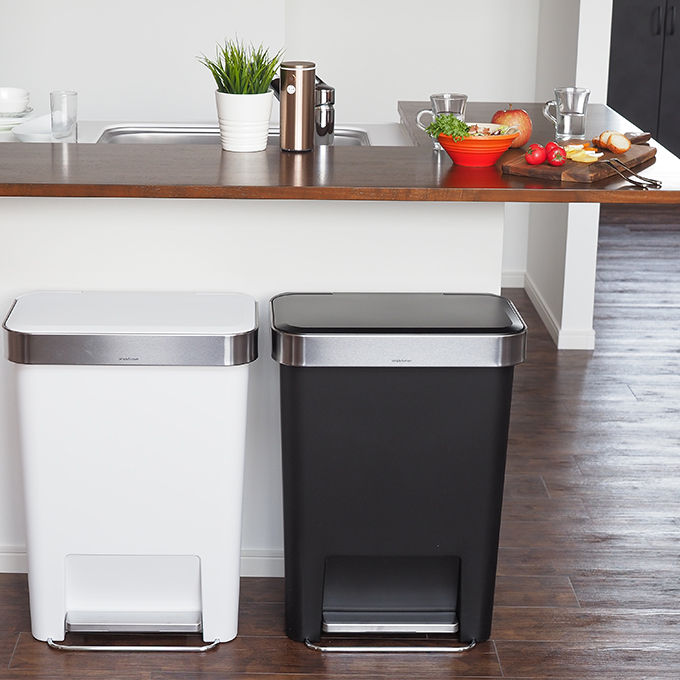 ... Trash Bin Kitchen Trash Box Slim Trash Bin Rectangularstepcan Trash Box  45 Litre Trash Bin Simplehuman ...