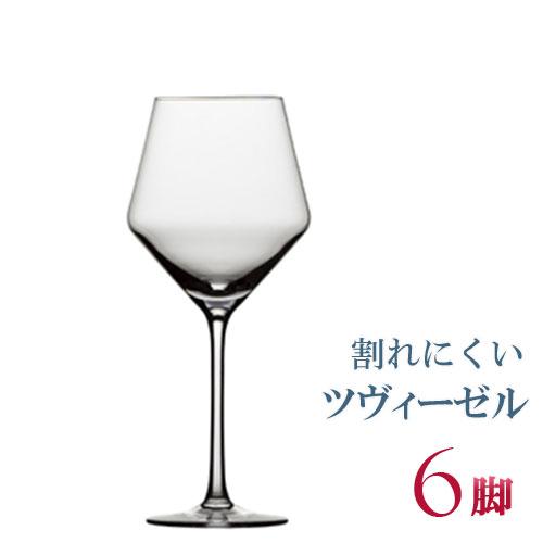 正規品 SCHOTT ZWIESEL PURE ショット・ツヴィーゼル ピュア 『ボジョレー 6脚セット』 セット ワイングラス 赤 白 白ワイン用 赤ワイン用 割れにくい ギフト 種類 ドイツ 海外ブランド wine セット ワイン クリスタル ブルゴーニュ 父の日
