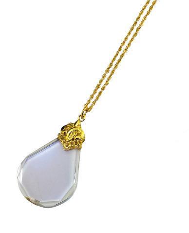 ルーペ 拡大鏡 虫メガネ 4倍 ペンダント ネックレス 母の日 敬老の日 PG-27 日本製 クリアー光学