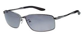 偏光サングラス 老眼鏡付 男性用 女性用 おしゃれ BFS-5Sスモーク ガンメタ