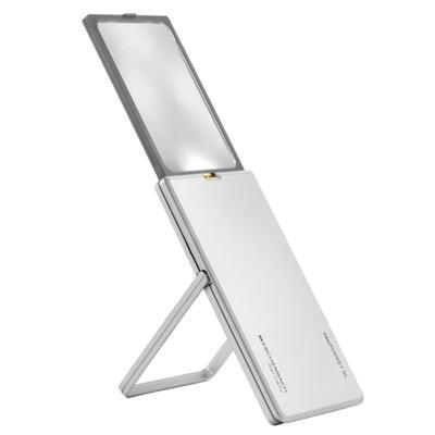 LEDライト付カード型ルーペ 2.5倍 エッシェンバッハ