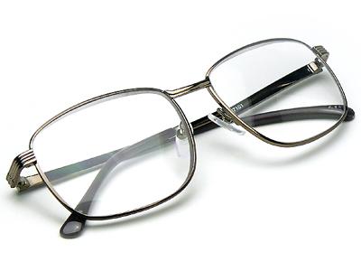 老眼鏡 おしゃれ 男性用 強度数 +4.5 +5.0 メガネケース付 500B強度