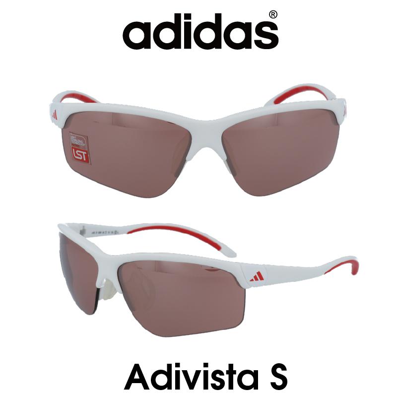 Adidas (アディダス) サングラス Adivista S アディヴィスタ A165-01-6091 LSTアクティブS レンズ 人気モデル UVカット アウトドア ドライブ スポーツ