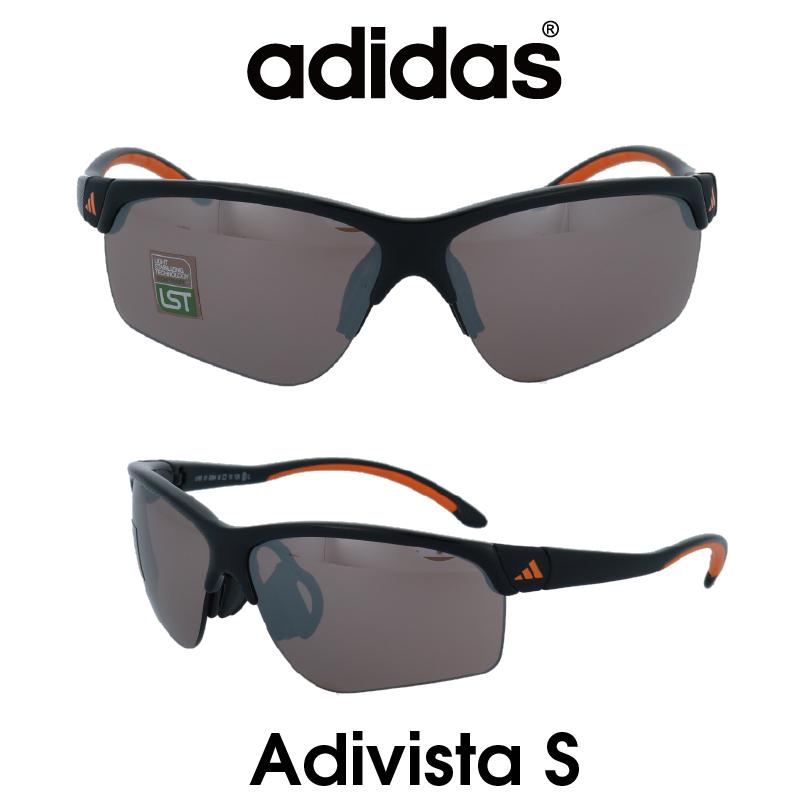 Adidas (アディダス) サングラス Adivista S アディヴィスタ A165-01-6094 LSTコントラストS レンズ 人気モデル UVカット アウトドア ドライブ スポーツ