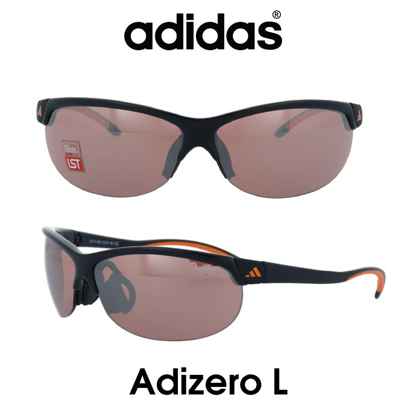 Adidas (アディダス) サングラス Adizero L アディゼロ A170-01-6079 LSTアクティブS レンズ 人気モデル UVカット アウトドア ドライブ スポーツ