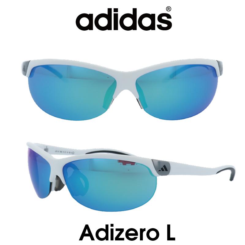 Adidas (アディダス) サングラス Adizero L アディゼロ A170-01-7052 グレー/ブルーミラー レンズ 人気モデル UVカット アウトドア ドライブ スポーツ