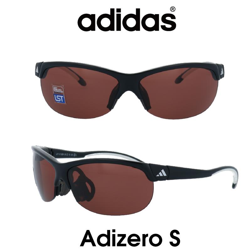 Adidas (アディダス) サングラス Adizero S アディゼロ A171-01-6054 LSTポラライズド(偏光レンズ) レンズ 人気モデル UVカット アウトドア ドライブ スポーツ