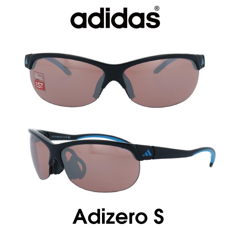 Adidas (アディダス) サングラス Adizero S アディゼロ A171-01-6078 LSTアクティブS レンズ 人気モデル UVカット アウトドア ドライブ スポーツ