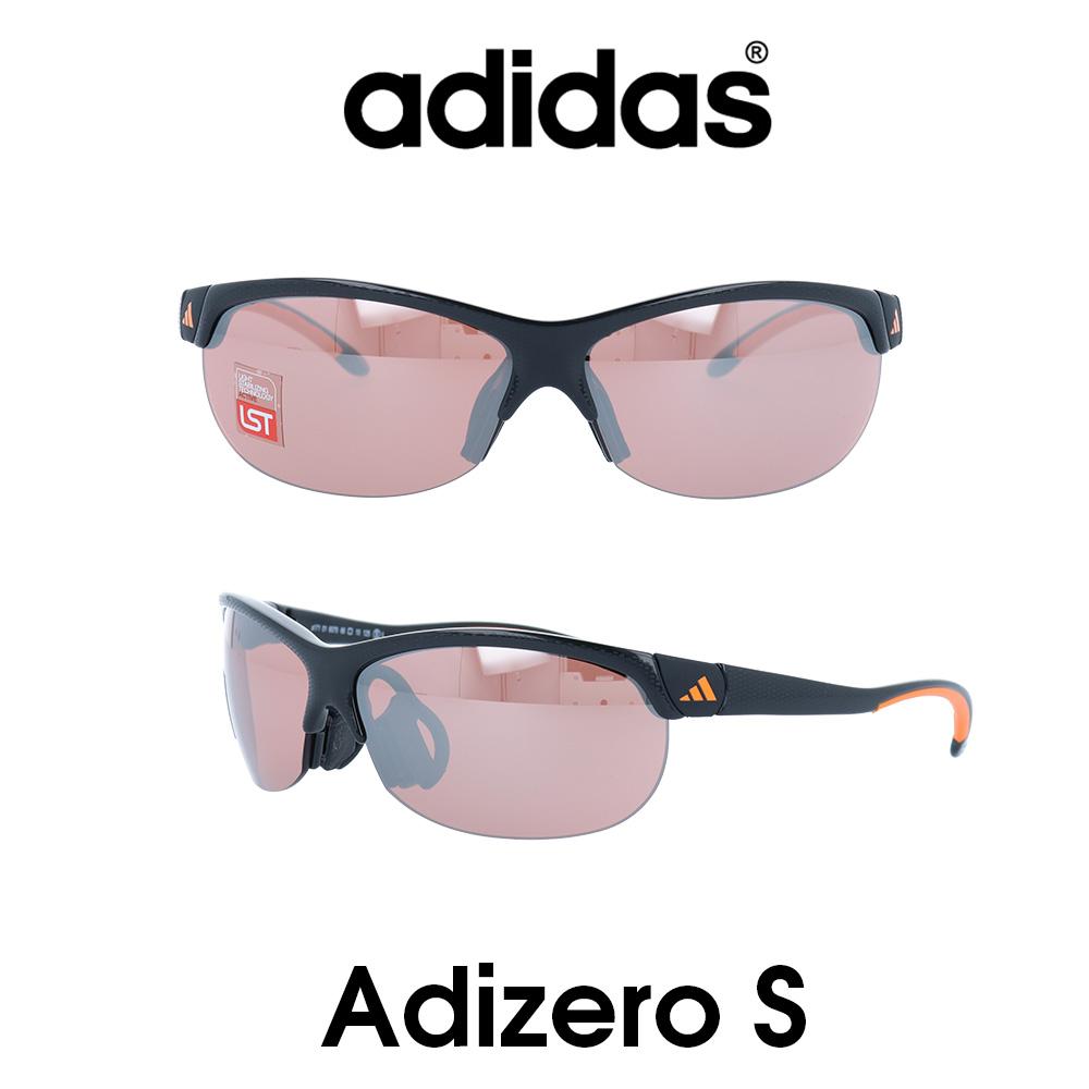 Adidas (アディダス) サングラス Adizero S アディゼロ A171-01-6079 LSTアクティブS レンズ 人気モデル UVカット アウトドア ドライブ スポーツ