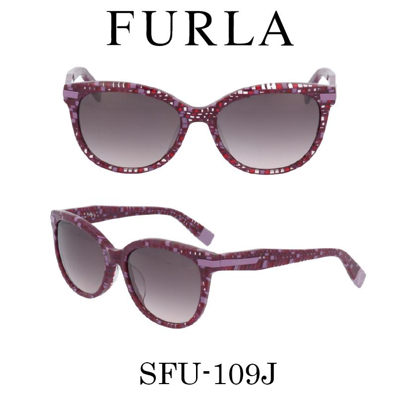FURLA(フルラ) サングラス SFU-109J GB4 レディース 人気ブランド UVカット キュート おしゃれ モード