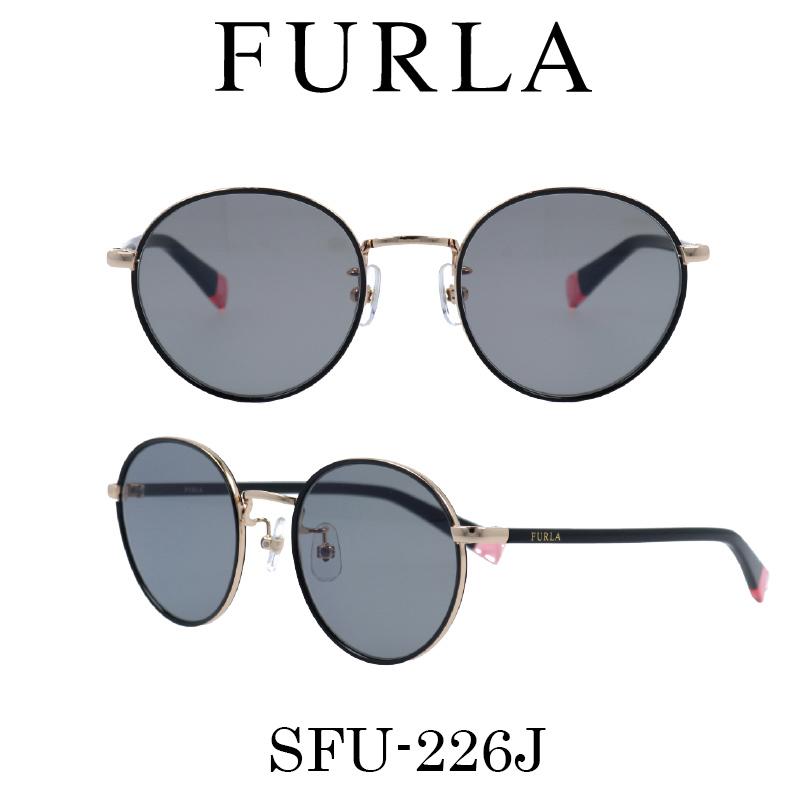 FURLA(フルラ) サングラス SFU-226J 301 レディース 人気ブランド UVカット キュート おしゃれ モード