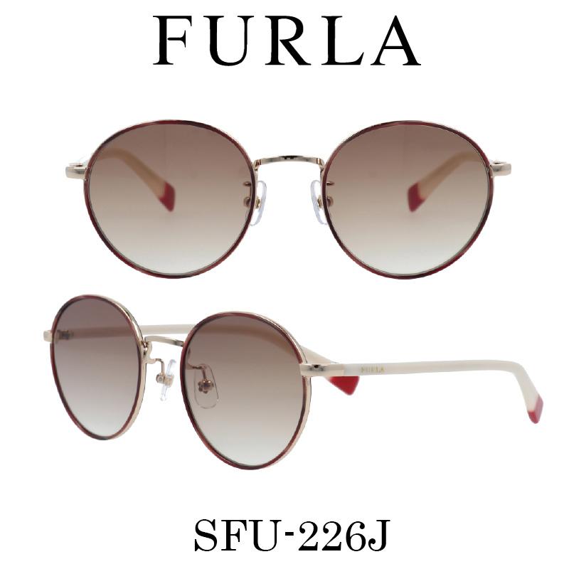 FURLA(フルラ) サングラス SFU-226J 307 レディース 人気ブランド UVカット キュート おしゃれ モード
