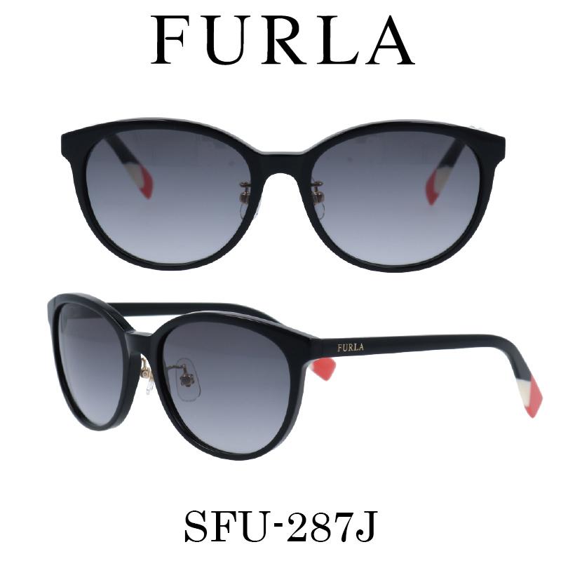 FURLA(フルラ) サングラス SFU-287J 700 レディース 人気ブランド UVカット キュート おしゃれ モード
