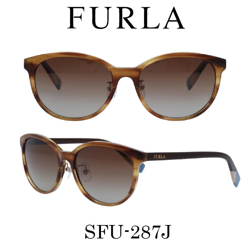 FURLA(フルラ) サングラス SFU-287J 9N3P 偏光レンズ レディース 人気ブランド UVカット キュート おしゃれ モード