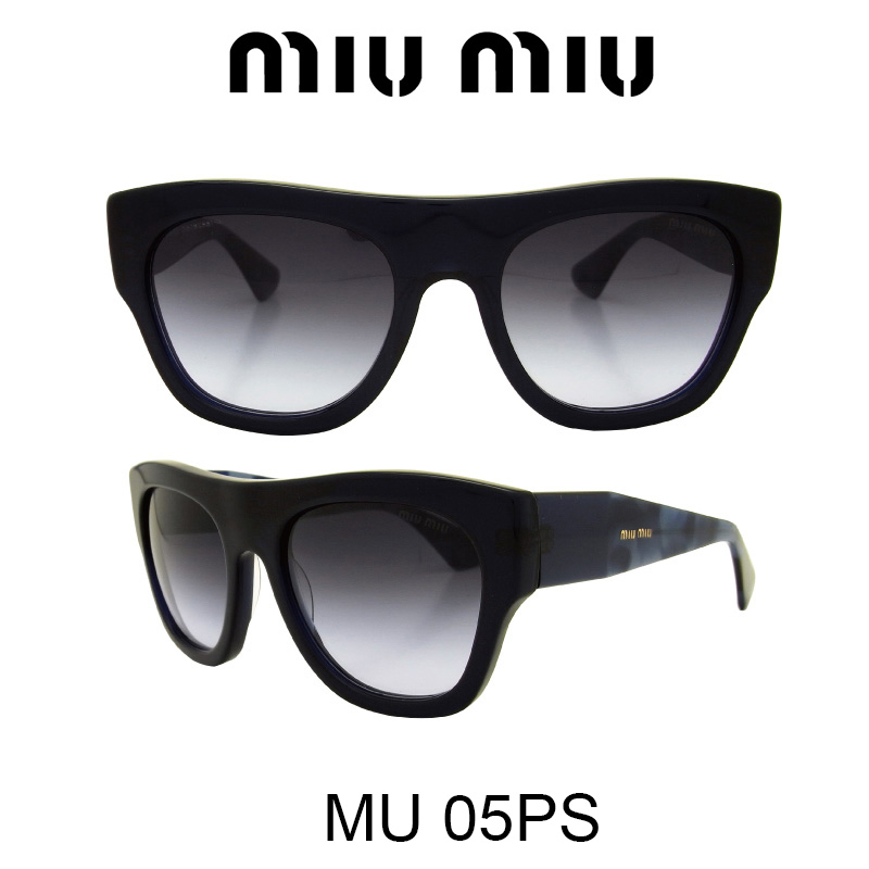 【国内正規品】MIU MIU ミュウミュウ サングラス MU05PS 0AX2F0 人気モデル UVカット おしゃれ かわいいサングラス レディース uvカット