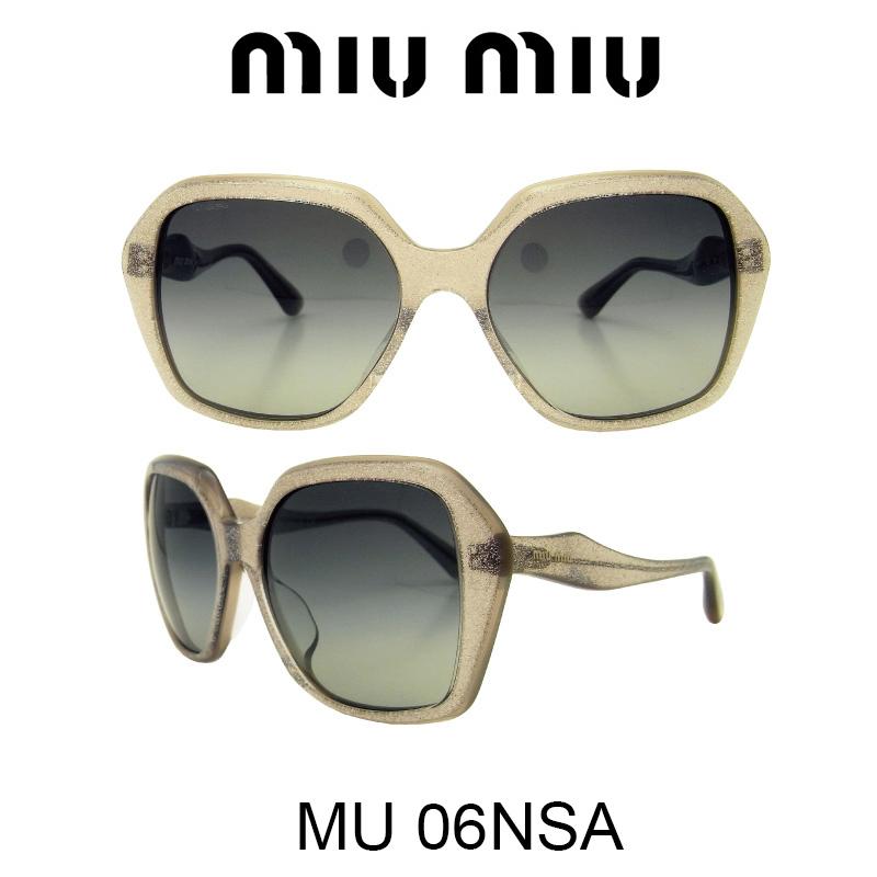 MIU MIU(ミュウミュウ) サングラス MU06NSA HAL3M1 人気モデル UVカット おしゃれ かわいいサングラス レディース uvカット