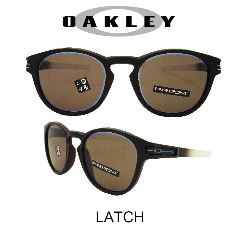 OAKLEY オークリー サングラス (アジアンフィット) ラッチ マットブラックフェード/プリズムグレー 野球 ゴルフ(Sunglasses LATCH 9349-17 Matte Black Fade/Prizm Grey)