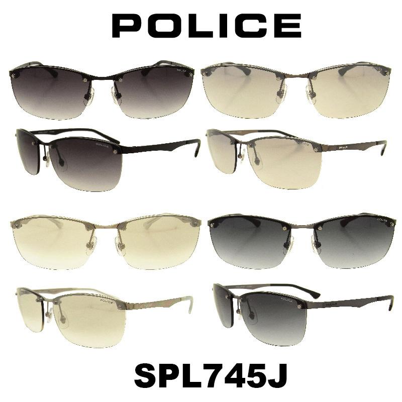 POLICE (ポリス) サングラス Japan モデル SPL745J カラー 530N 568S 583X 627L