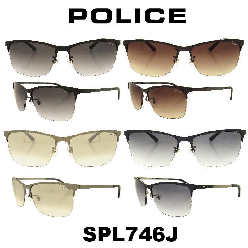 POLICE (ポリス) サングラス Japan モデル SPL746J カラー 531 K05 S11X SNC