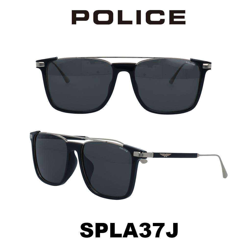 2020年 POLICE (ポリス) サングラス Japanモデル SPLA37J 700 シャイニーブラック/シャイニーゴールド/スモーク 槙野着用モデル