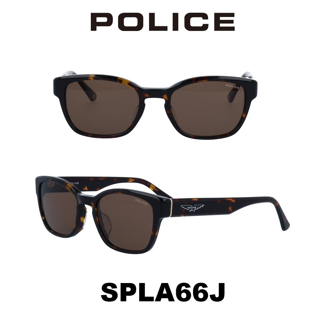 2020年 POLICE (ポリス) サングラス Japanモデル SPLA66J 710 ハバナ/ブラウン
