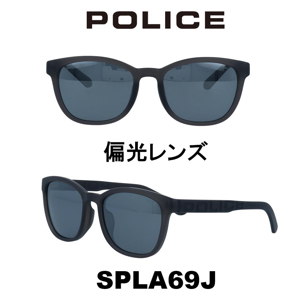 2020年 POLICE (ポリス) サングラス Japanモデル SPLA69J 7VGP マットクリアーグレー/グレーミラー(偏光)