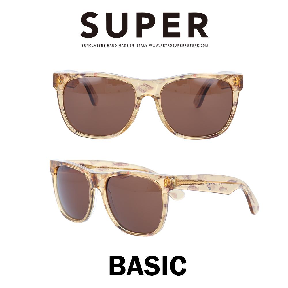 SUPER(スーパー) サングラス ベーシック Basic 857 コロニーライトポイゾン/ブラウン