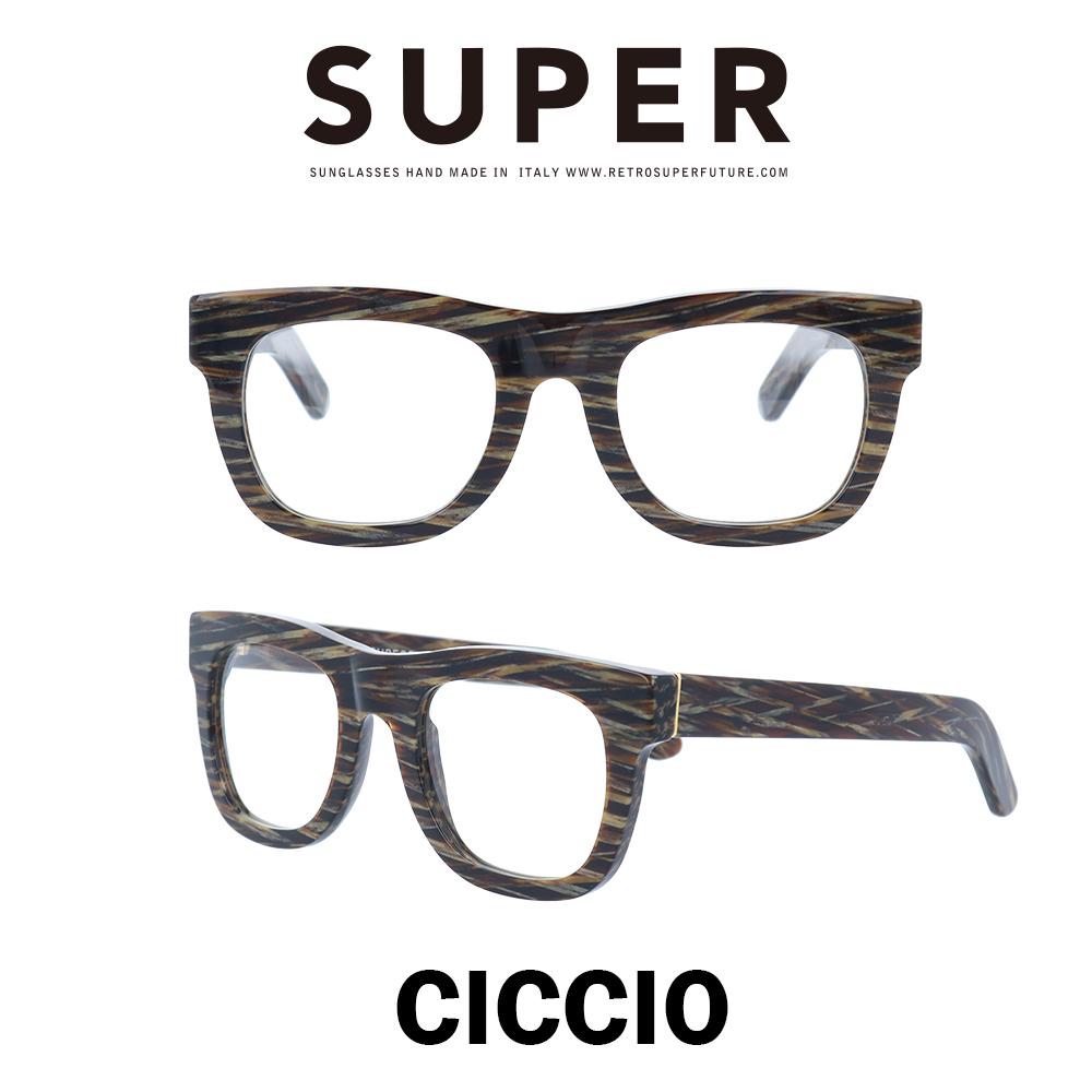SUPER(スーパー) サングラス チッチオ Ciccio 101 ジャガー/クリアレンズ