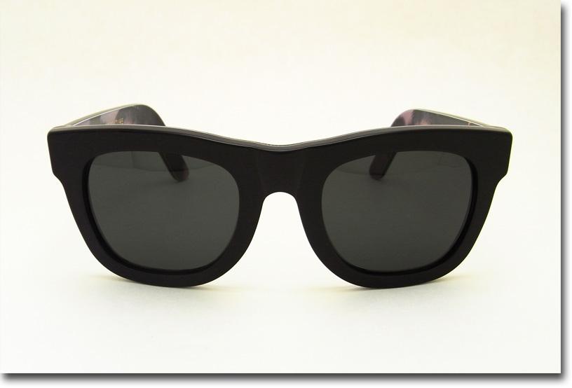 US並行輸入 SUPER Sunglass Ciccio 653 Black Sunset (スーパーサングラス ブラックサンセット)