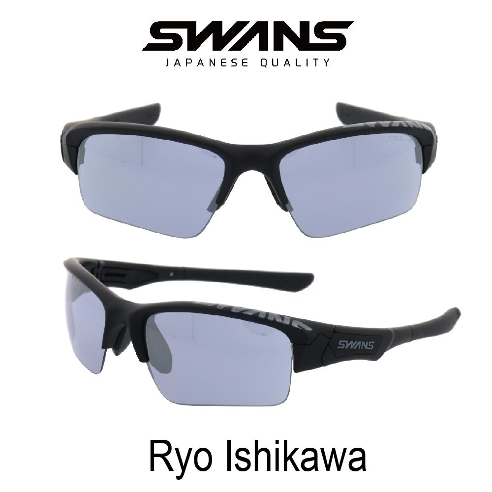 Swans スワンズサングラス SPB 0714 18RI 石川遼限定モデル Springbok スプリングブック ウルトラレンズ 偏光ULレンズ付き ゴルフ0mw8nvN