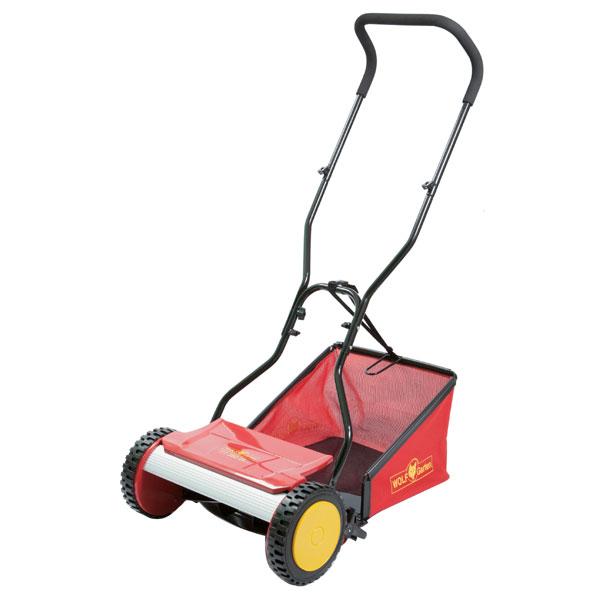 【送料無料】【WOLF Garten/ウルフガルテン】TT380DL リール式芝刈機 バッグ付 刈幅380mm #3623000