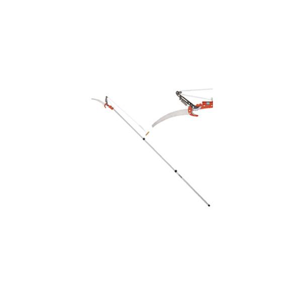 ○【送料無料】【キンボシ/金星】#3093 3段伸縮鋸付高枝切鋏 3m (アルミポール) 【高枝切鋏】