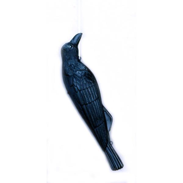 そっくりカラスで迷惑鳥を撃退 ミツギロン EG-18 コワガラス ブラック 販売実績No.1 JAN:4978684305505 忌避 害獣対策 鳥害用品 鳥獣対策用品 ハトよけ 農作業 人気上昇中 住宅 カラスよけ