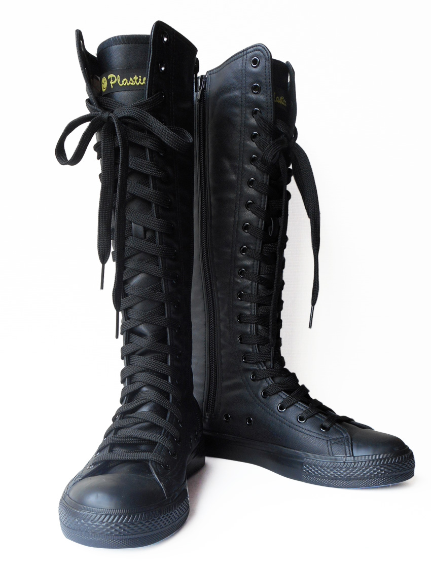 f258fd5d628 Sneaker boots black ダンスバイク lace-up boots men and women unisex kids kids  dance shoes for synthetic leather