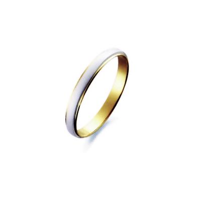 【送料無料】【刻印無料】プラチナ&K18コンビリング【M801】(Pt900/K18)(プラチナ ゴールド 白金 金 指輪 リング マリッジ ペア ペアリング パイロット PILOT True Love 祝い 贈り物 プレゼント 綺麗 シンプル )