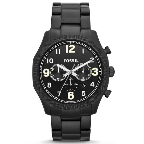 【送料無料】FOSSIL(フォッシル)Foreman FS4864 メンズ腕時計【ブラック】( フォッシル ステンレス 時計 ウォッチ メンズ フォアマン 父の日 ギフト プレゼント 腕時計 バレンタイン ホワイトデー 入学祝い 卒業祝い 就職祝い )
