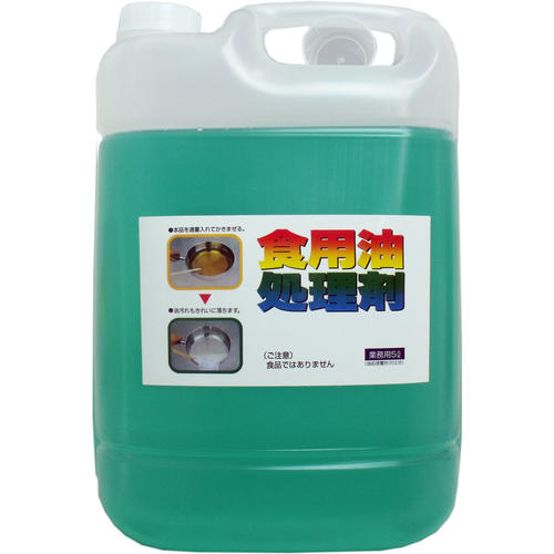 UYEKI 食用油洗浄剤 油コックさん 業務用 (5L)