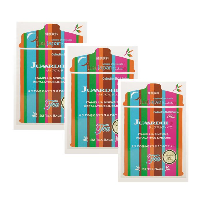 【3箱セット+1】【送料無料】ジュアアルディ ペコ 2.5g×32包 ダイエットティーダイエット茶 ジュアールティー ダイエットドリンク ルイボスティー ジュアールティー 【期間限定+1箱プレゼント】【ポイントUP】