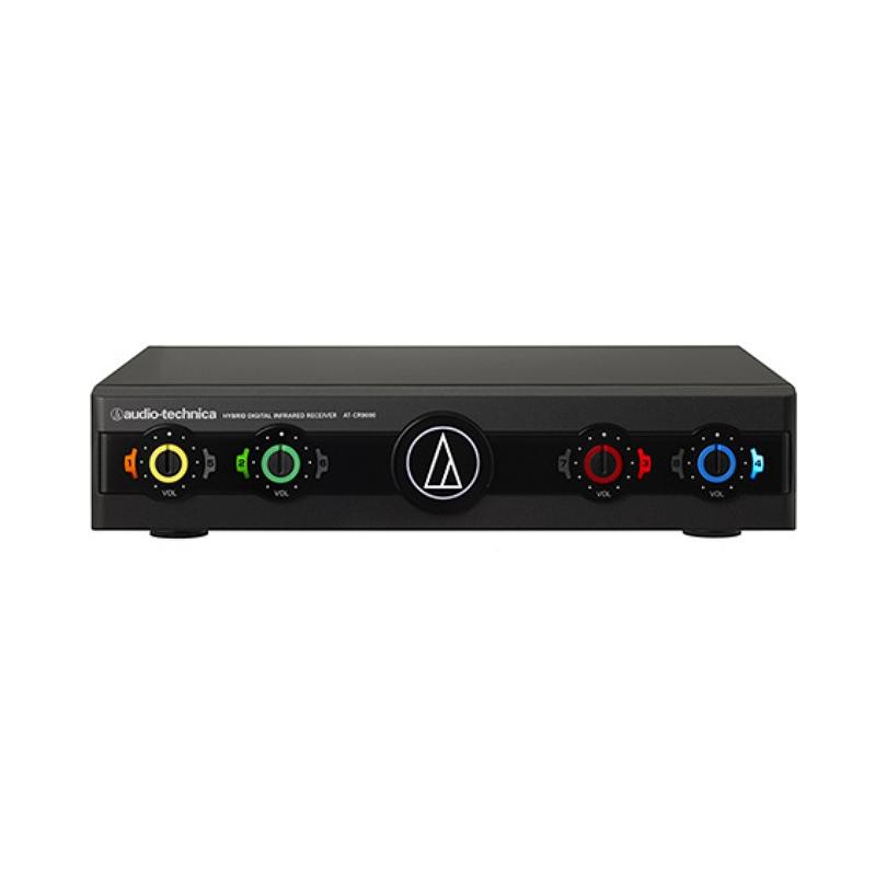 【送料無料】マイクロフォンレシーバー AT-CR9000 ワイヤレスマイク オーディオテクニカ audio-tecnica 業務用赤外線コードレスレシーバー