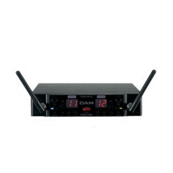 【送料無料】マイクロフォンレシーバー DWR-2000 ワイヤレスマイク 第一興商 業務用800MHz ワイヤレスマイクレシーバ