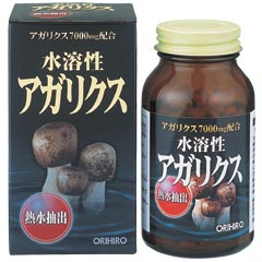 Orihiro水溶性AGA Aktiebolag再樟约432粒蘑菇/健康/AGA Aktiebolag再樟蘑菇其本身的粉碎品混合起来