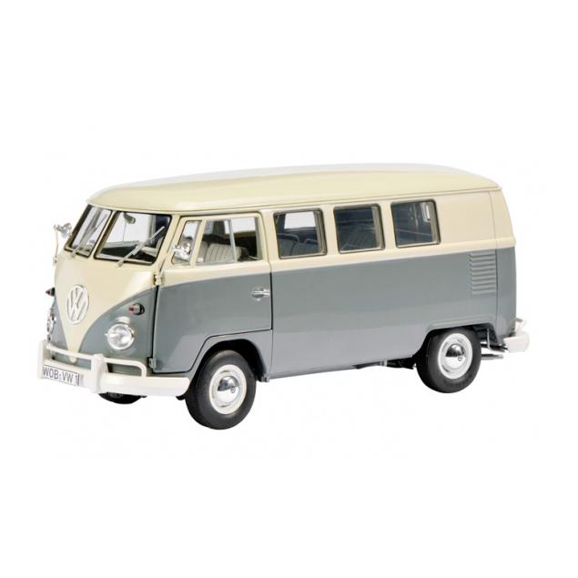 【送料無料】Schuco/シュコー VW T1 バス パールホワイト/グレー ミニカー 【プラチナショップ】【プラチナSHOP】