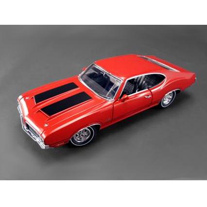 【送料無料】ACME/アクメ オールズモビル 442 1970 マタドールレッド ホワイトラインタイヤ ミニカー 【プラチナショップ】【プラチナSHOP】
