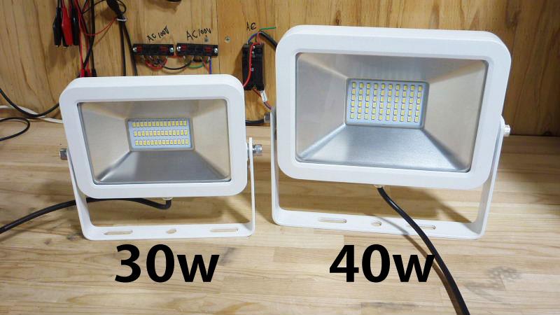 小型ハイパワー薄型 LED 船舶専用 デッキライト 40W(DC12V/DC24V兼用)LED42個(全光束2800LM) (白色 6000K)船舶や自動車などに! 広角160度 IP65 白熱球300W相当 船 ライト 【送料無料】